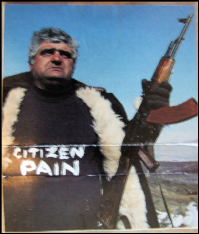 Cassette Cover for Citizen Pain
