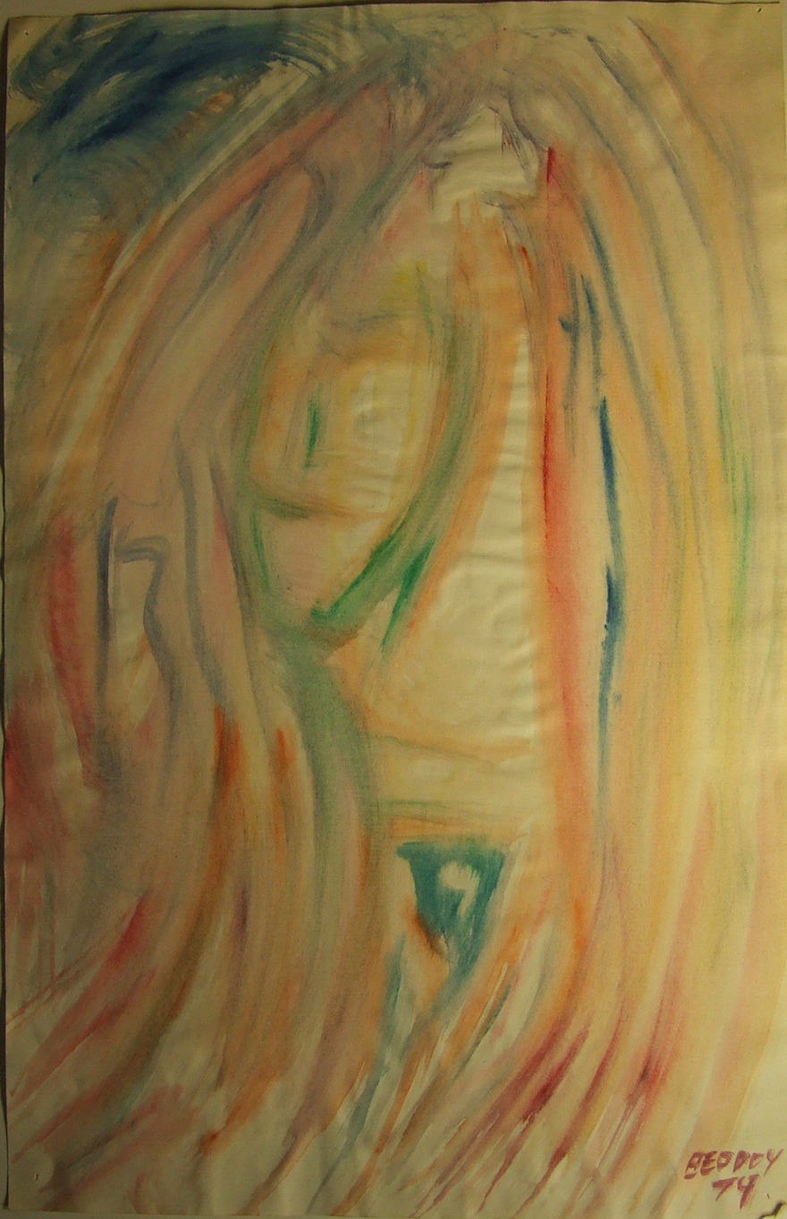 Thinned Acrylics Untitled 169